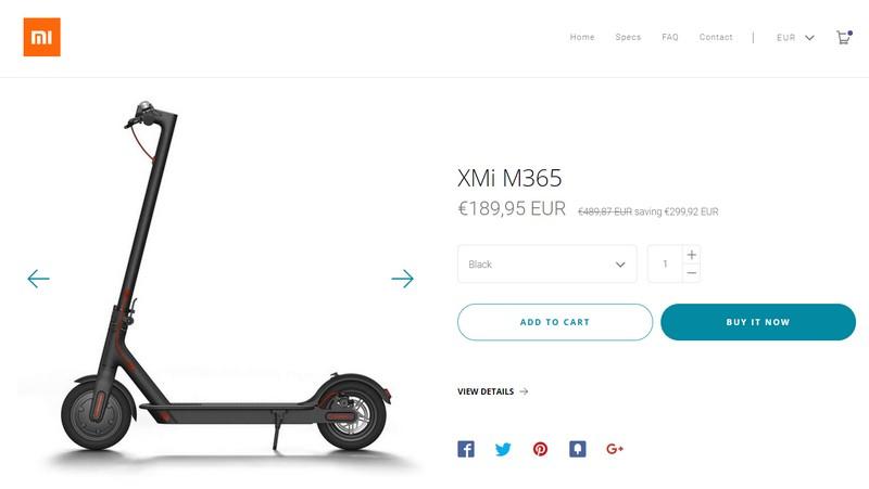 Trotineta electrica Xiaomi Fake